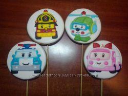Фигурки прянички на торт - топеры