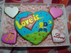 Прянички Love is - любовь это