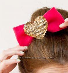 Аксессуары для волос на день Валентина.
