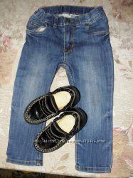 Класнючие джинсики-скиниSLIM Туфельки