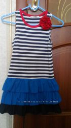 Модное платье на девочку фирмы Flash, рост 122-128см