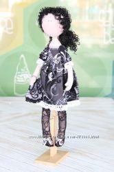 Текстильная кукла Муза