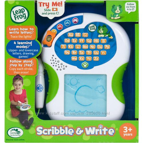 leap frog scribble and write