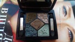 Тени Dior 384 bonne etoile, лимитка, полный комплект