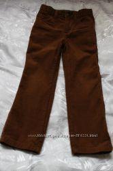 Вельветовые брюки Gymboree слим размер 4.