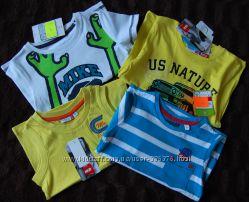 Футболки и майки для мальчиков 98см С&A и nkd Германия