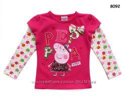 Регланы и кофты со Свинкой Пеппой от NOVA и Flags