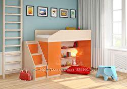 Невысокая детская кровать на заказ