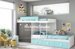 Детская кровать на 2 спальных места на заказ