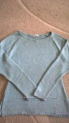 Мятный легкий свитерок