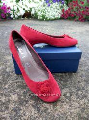 Австрийские замшевые туфли Gabor