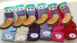 Шерстяные носки с отворотами Распродажа