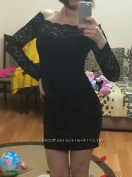 платье гипюр вечернее 36р. xs-s