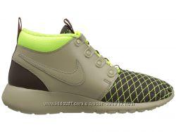 Nike Kids Roshe One Mid  Running Shoe оригинал Найк кроссовки хайтопы
