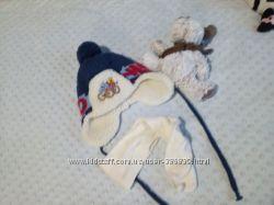 шапка зимная для самый маленьких мальчиков