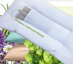 Ортопедическая фито подушка с вкладышем из травяных сборов
