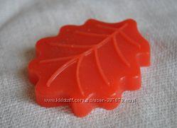 Мыло ручной работы Дубовый лист бордовый
