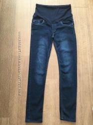 Утепленные джинсы ROOSTER JEANS для беременной, состояние отличное