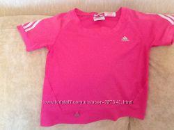 Футболка для девочки Adidas, 116, бу