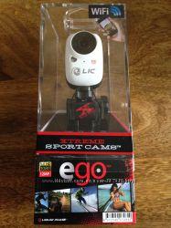 Белого цвета экшн-камера Liquid Image EGO Wi-Fi LIC727W новая в упаковке