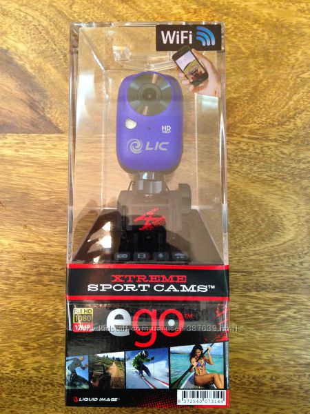 Экшн-камера Liquid Image EGO Wi-Fi LIC727W новая в упаковке
