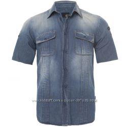 Мужская джинсовая рубашка Just Cavalli  L 50-52  Оригинал X270