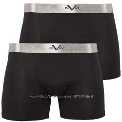 Мужские трусы боксеры VERSACE 19V69 S 46-48, М48-50 2шт в упаковке оригинал