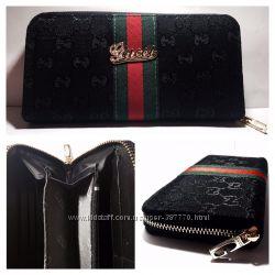 Кожаный кошелек, кошелек Gucci копия
