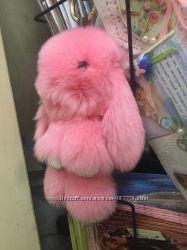 Sale брелок кролик зайка на сумку 18-20 см