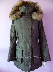 Женская курточка Damo, демисезонная, оливка