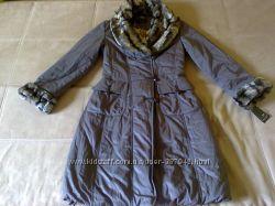Женское пальто на теплую зиму р. 44-46 Новое