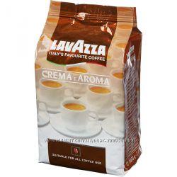 Кофе Кава в зернах Lavazza Crema Qualita Rossa Oro1 kg
