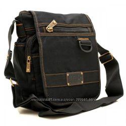 1b81cd463f8d Чёрная с клапаном через плечо GoldBe, 305 грн. Мужские сумки ...
