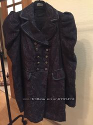 Модное двубортное пальто, Stradivarius