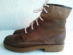 Кожаные демисезонные ботинки Clarks 37-37, 5 р. Въетнам
