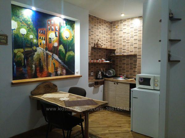 Трускавец. Однокомнатная квартира-студия в стиле шале -2 с личной парковкой