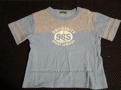 футболка Benetton на 2 года, поло Prenatal на 1, 5 года