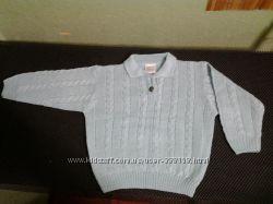 миленький свитерок на 3 -4 года, кофточка хб для садика