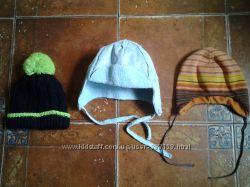 шапочки на флисе на 3-5 лет.