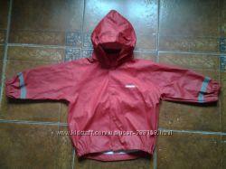 фирменная непромокающая курточка на 4-5 лет