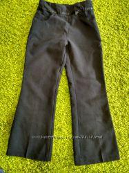 Школьные брюки  серые и черные 128