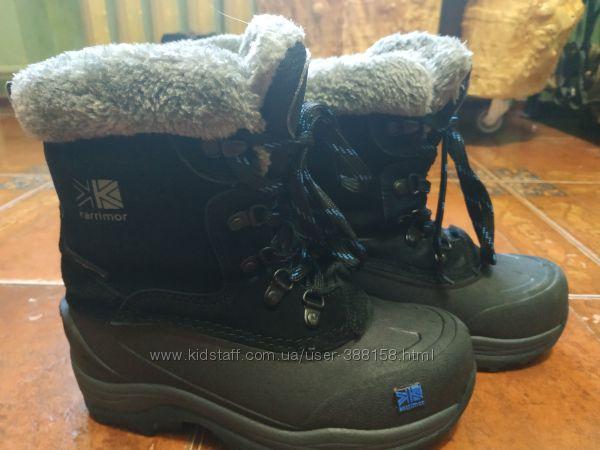 Ботинки теплые зимние Karrimor 21 см  стелька