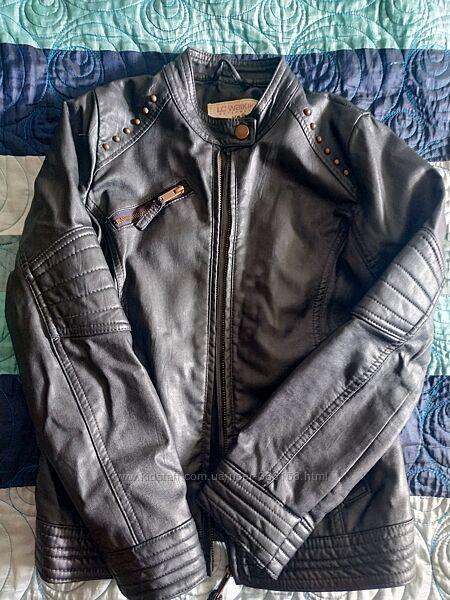 Байкерская курточка 9-11 лет