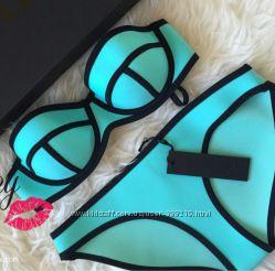 Triangl неопреновый купальник с сумочкой