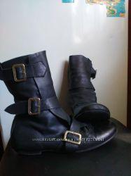 Крутые ботиночки из натуральной кожи