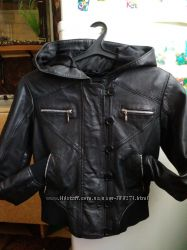 Крутая кожаная курточка LLD