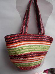 Модные пляжные сумки
