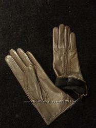 Перчатки кожаные на подкладке размер 7