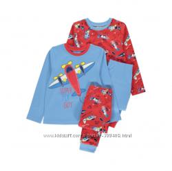 Набор пижам George Англия для мальчиков, 3-4 года
