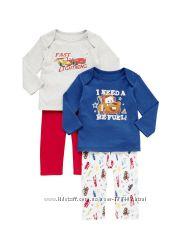 Наборы пижамок  девочкам и мальчикам,  1-2 года